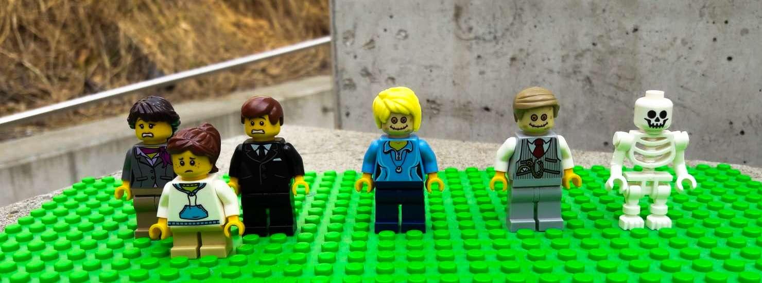 Trauerfamilie Minifiguren