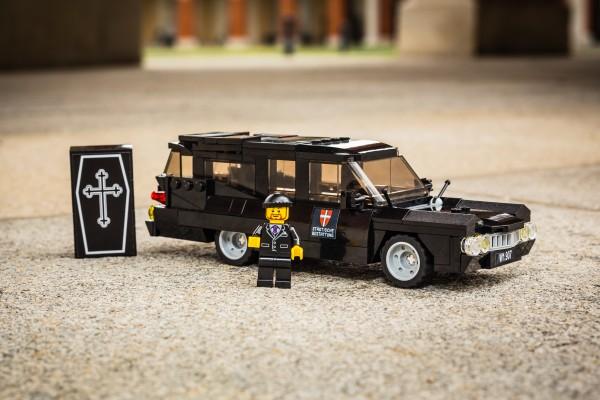 Historischer Leichenwagen aus LEGO(R) Komponenten