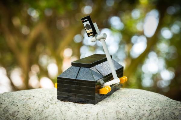 Selfie-Sarg aus LEGO(R) Komponenten