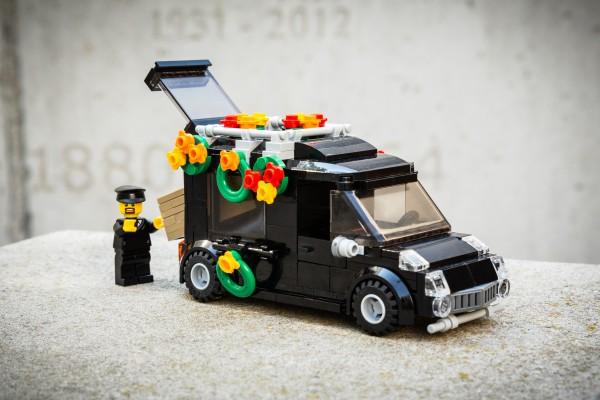 Konduktwagen aus LEGO(R) Komponenten